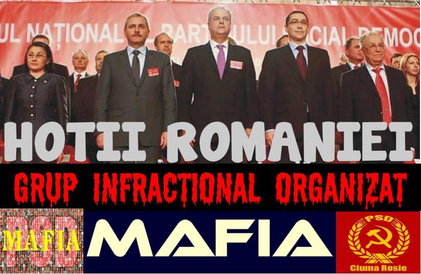 PSD, hotii Romaniei