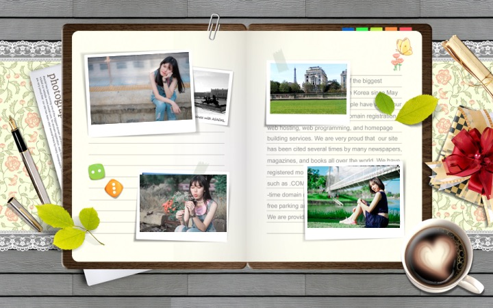 Powerpoint template profile v1