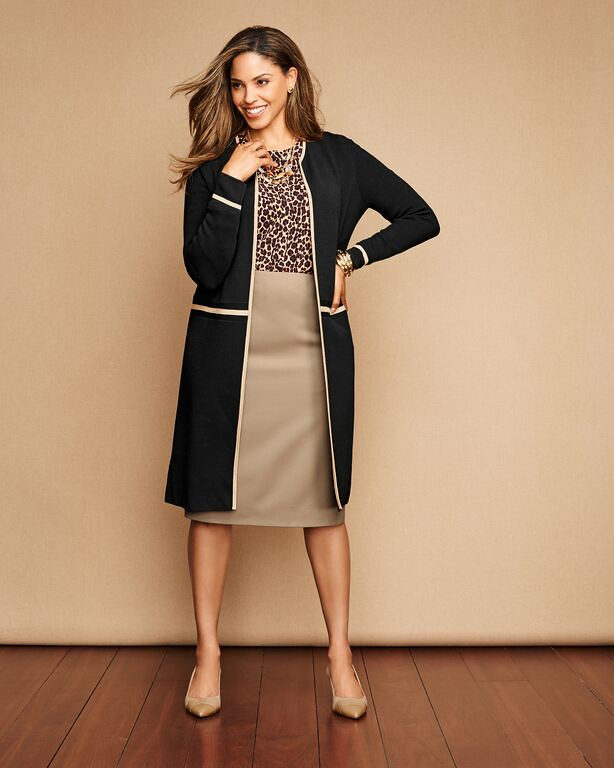 Talbots Fall Style Guide Curvy Fashion