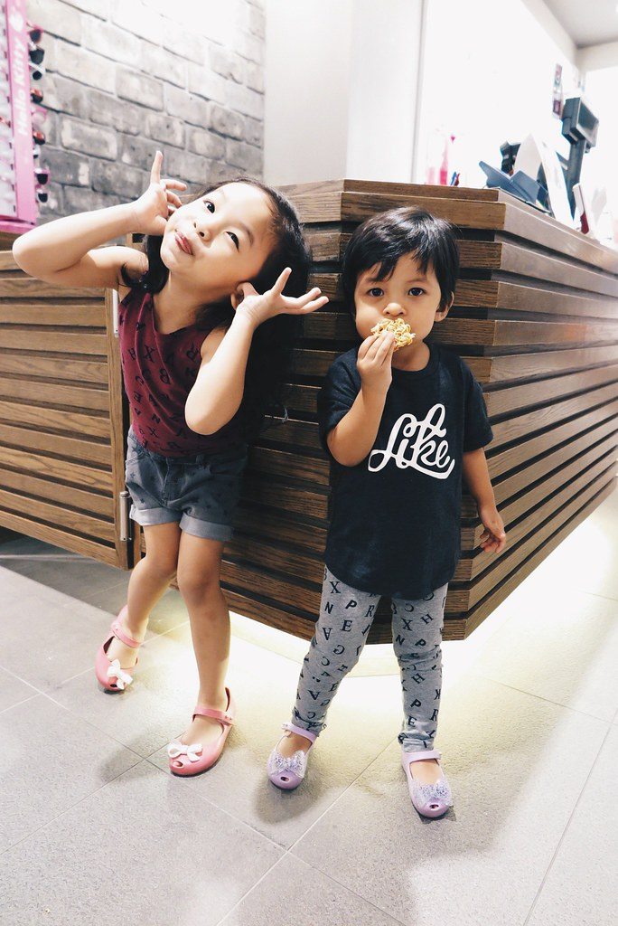 Ayra and Zara in FOX Kids and Baby Fall Winter 2015 Collection
