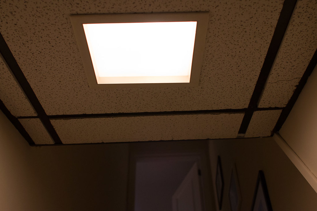 DIY Recessed Lighting Installation in a Drop Ceiling (Ceiling Tiles