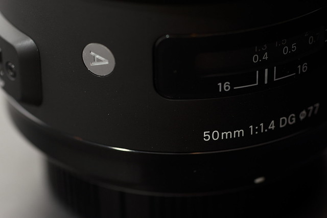 SIGMA 50mm F1.4 DG HSM [Art]
