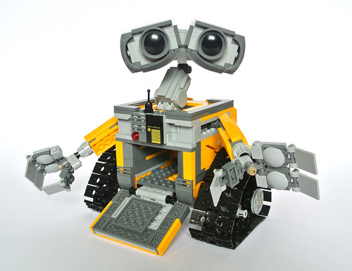review 21303 wall e brickset lego set guide and database. Black Bedroom Furniture Sets. Home Design Ideas