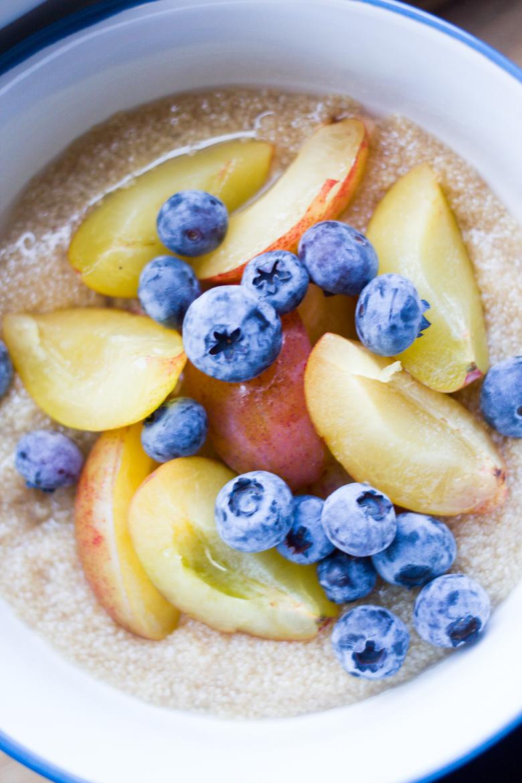 grains + fruit