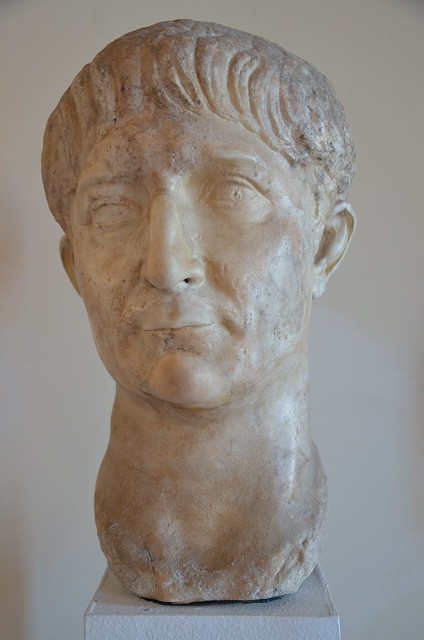 Portrait of Trajan, 98-103 AD, Venice Museo Archeologico, Italy