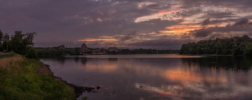 06457 clouds connecticut connecticutriver middletown originalnef riverroad sky summer sunset tamron18270 usa johnjmurphyiii pano panorama stitch
