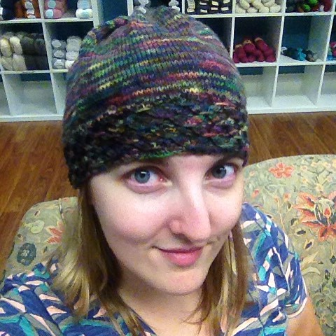 Ready for winter with my new crown! #nerdgirlyarn #ravelry