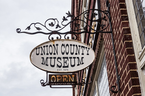 Union County Museum sign