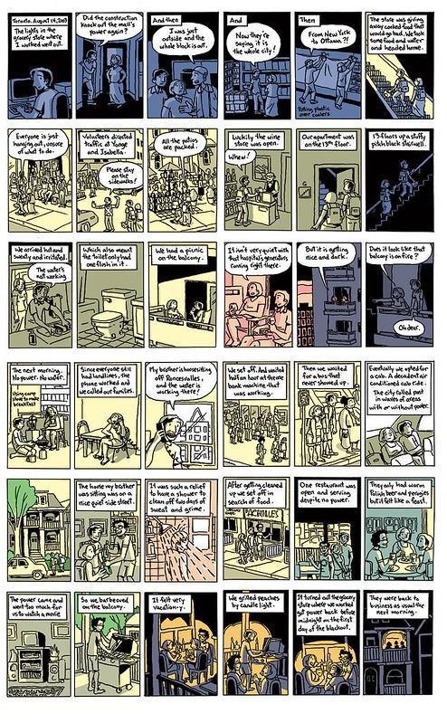 My transit comic - Blackout