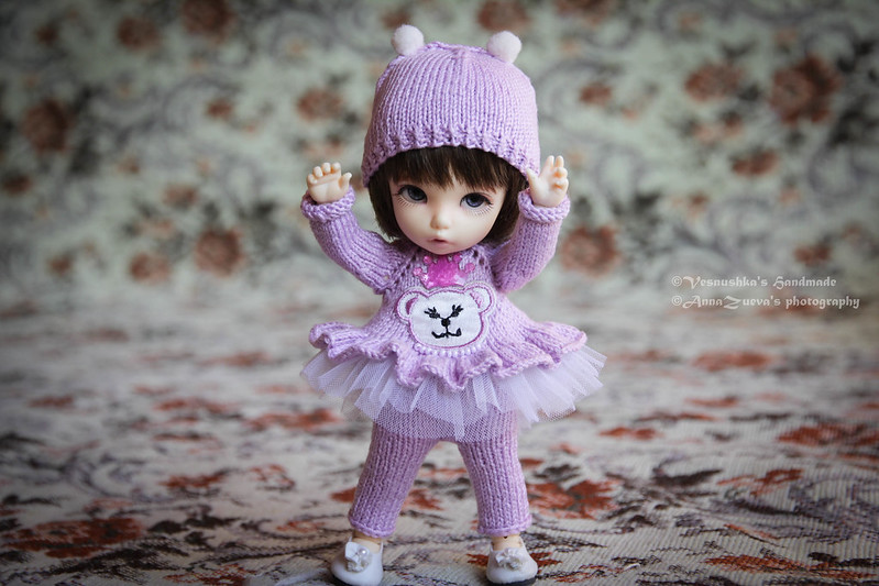 """Lilac bear"" for pukifee."