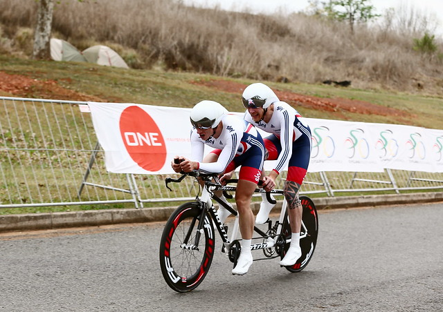 Great Britain Cycling Team at the UCI Para-cycling Road World Cup - Pietermaritzburg - Day one