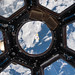 iriss LEGO figurine floats in Cupola by europeanspaceagency