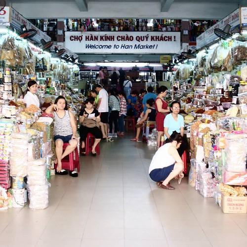 ハン市場の入り口。