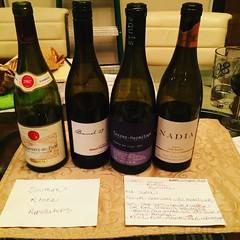 1st #sommelierstudygrouplvl2 #rhonereds @ashleedolores @101winetours #wine #cheers