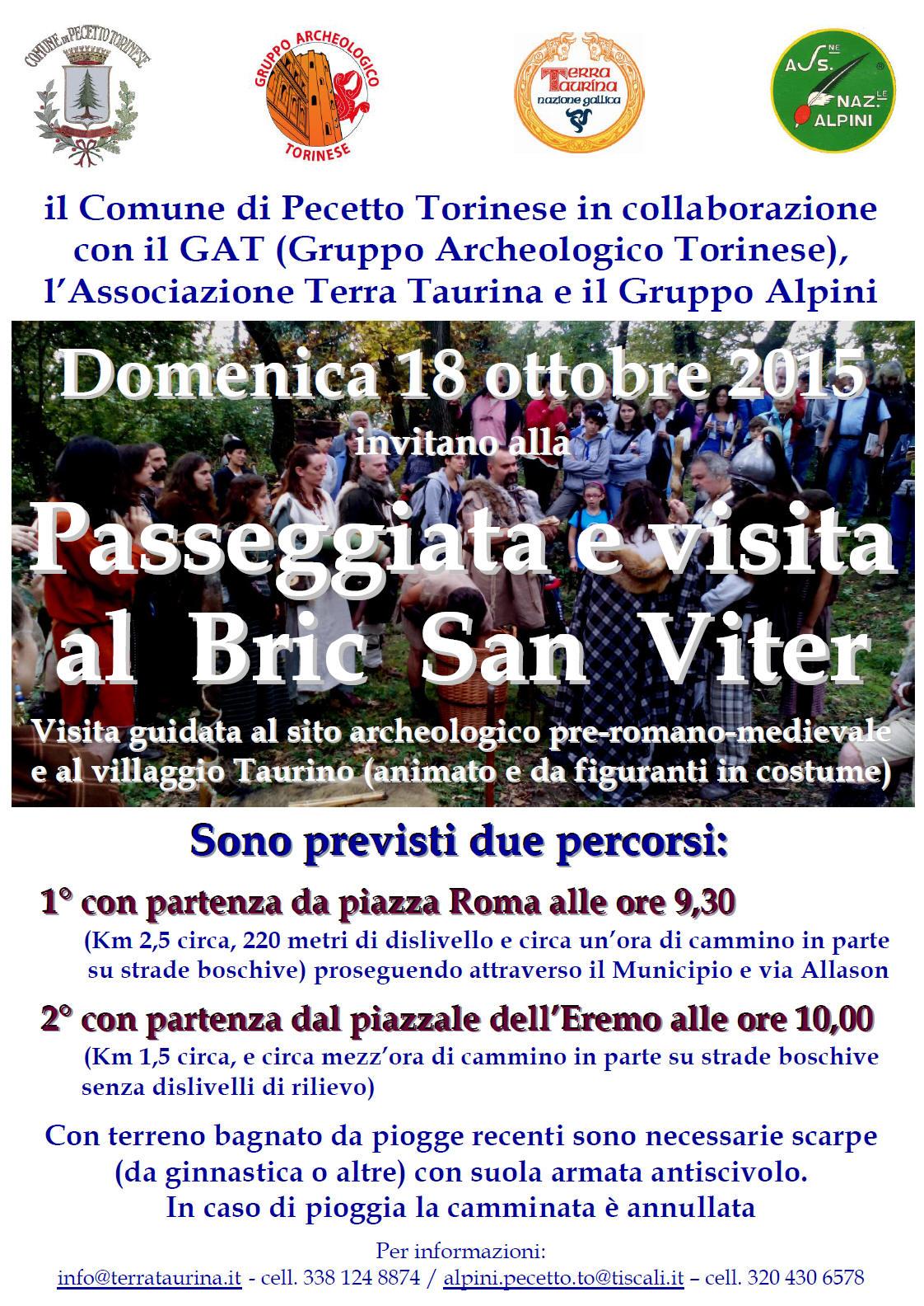 Comune Di Pecetto Torinese pecetto torinese (to): alla scoperta del sito pre-romano del