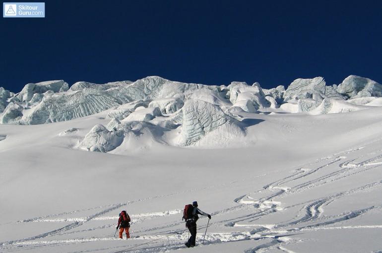 Lanové družstvo na ledovci