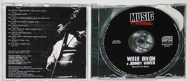 JOHNNY WINTER WILLIE DIXON - SPOONFUL of BLUES
