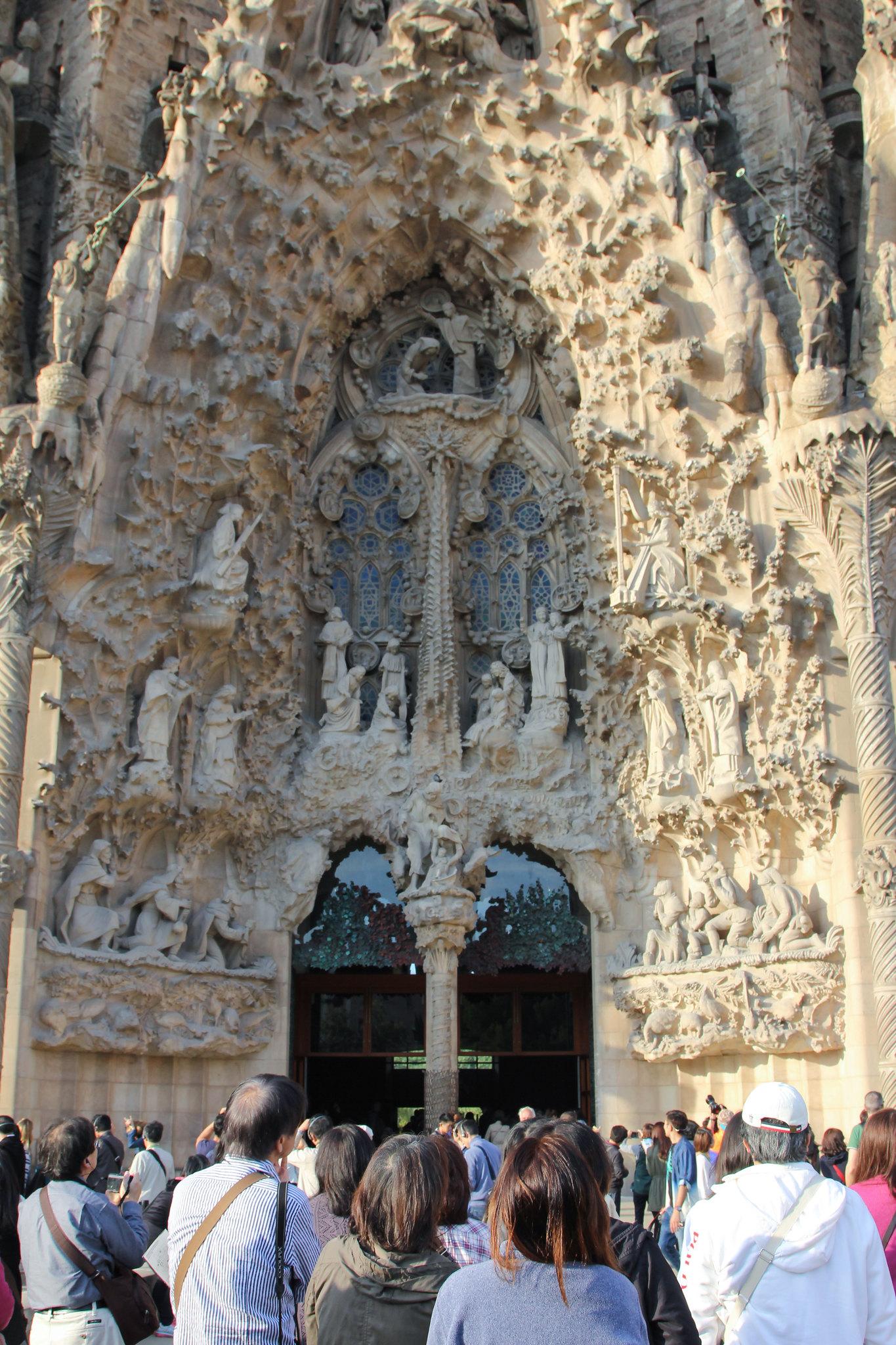 Beautiful church of la sagrada fam lia personal blog for La sagrada familia church