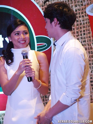 JaDine for 711 City Blends Coffee - photo by Azrael Coladilla