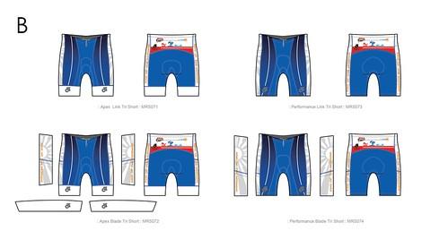 三鐵褲B版樣式