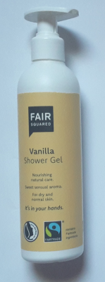 Fair Squared Vanilla Shower Gel