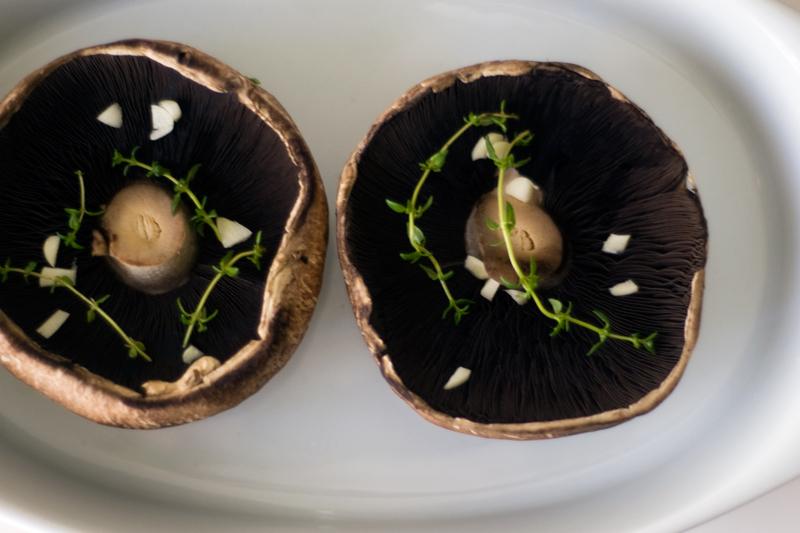 Cogumelos Portobello