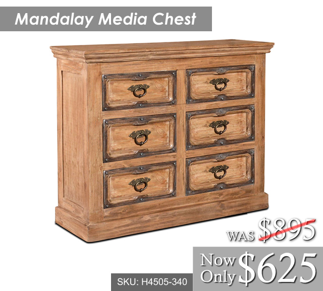 Mandalay Media Chest