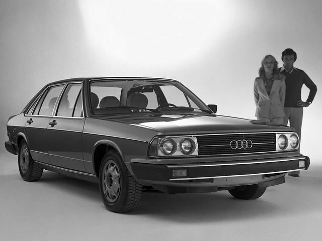 Седан Audi 5000. 1978 – 1980 годы