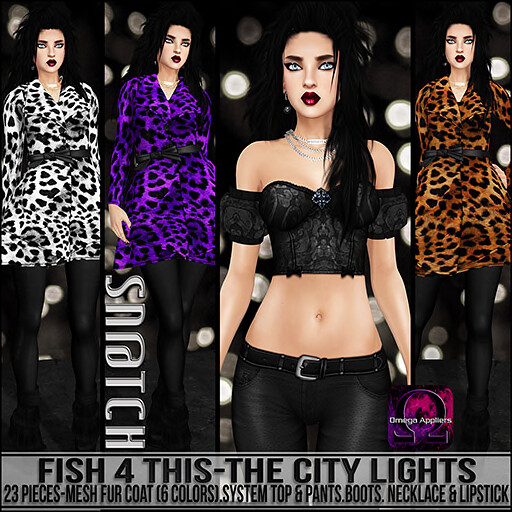 Sn@tch Fish 4 This-The City Lights Vendor Ad SM