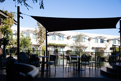 Doubletree patio