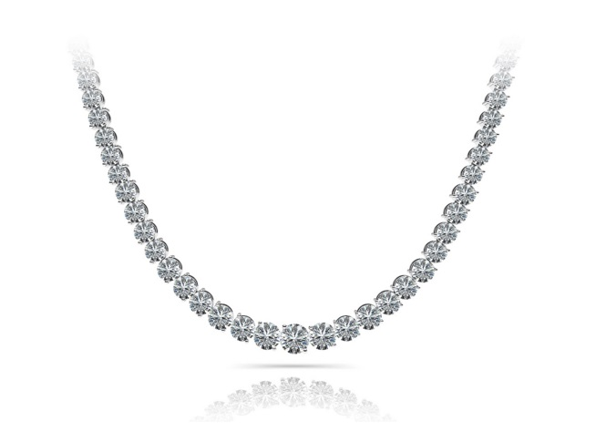Anjolee diamond necklace review