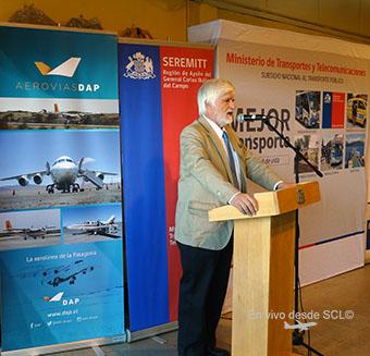 Aerovías DAP Andres Pivcevic inauguracion ruta PUQ-BBA (RD)
