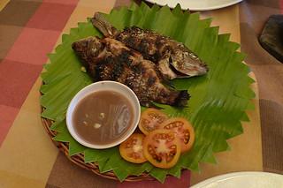 Ilocos Norte - Papa Pau's Diner grilled tilapia