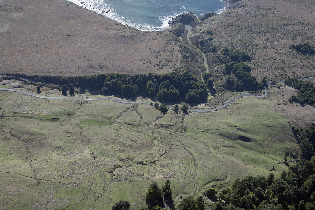 Above the San Andreas Fault near Fort Ross, Sonoma County, California