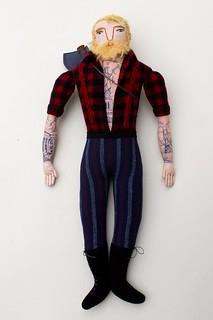 Blond Lumberjack