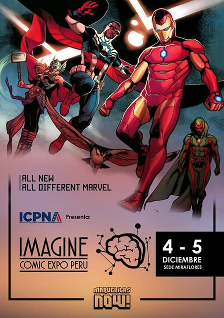Imagine Expo Comic Peru : Vive la fiesta de los cómics