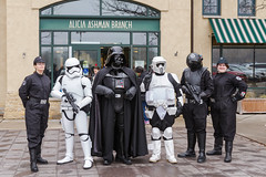 501st arrives at the location