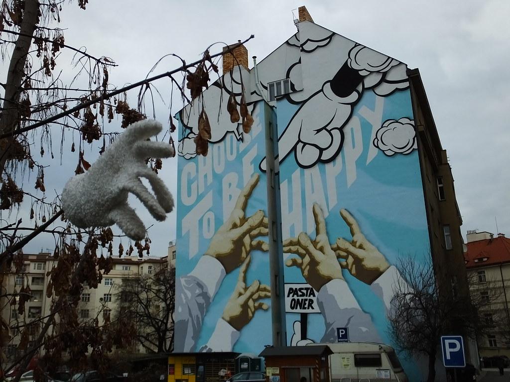 Prague: Pasta Oner Street Art. U201c Part 80