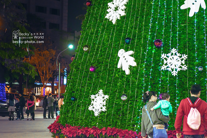 2015.Dec christmas tree @Taichung台中市政府