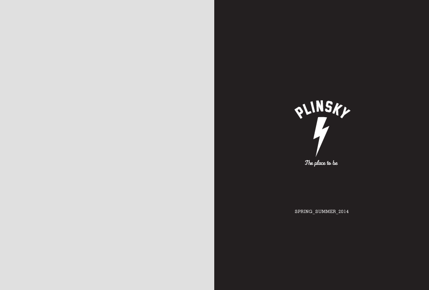 Plinsky Clothing | Lookbook Spring Summer 2014