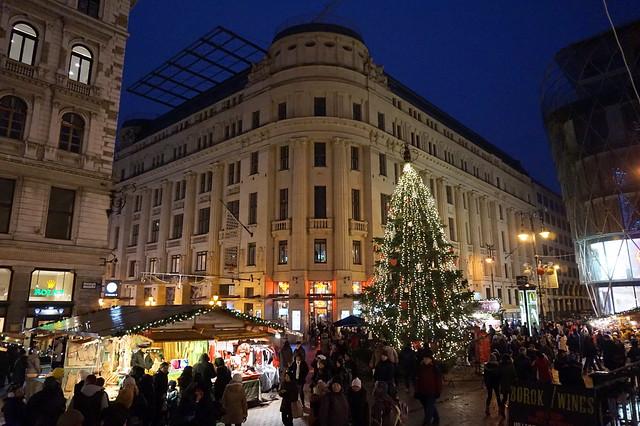 Christmas Market at Vörösmarty Square, Budapest