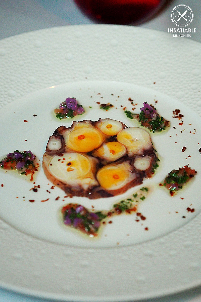 Carpaccio of Freemantle Octopus, Chorizo: Ananas, The Rocks. Sydney Food Blog Review