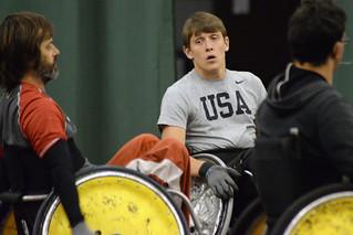 Quad Rugby con Seth McBride