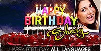 Happy Birthday All Languages