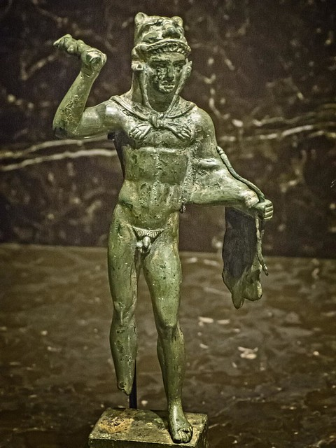 Etruscan Statuette of Heracles Italy 4th century BCE Bronze