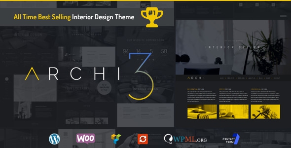 Archi v3.0.1 – Interior Design WordPress Theme