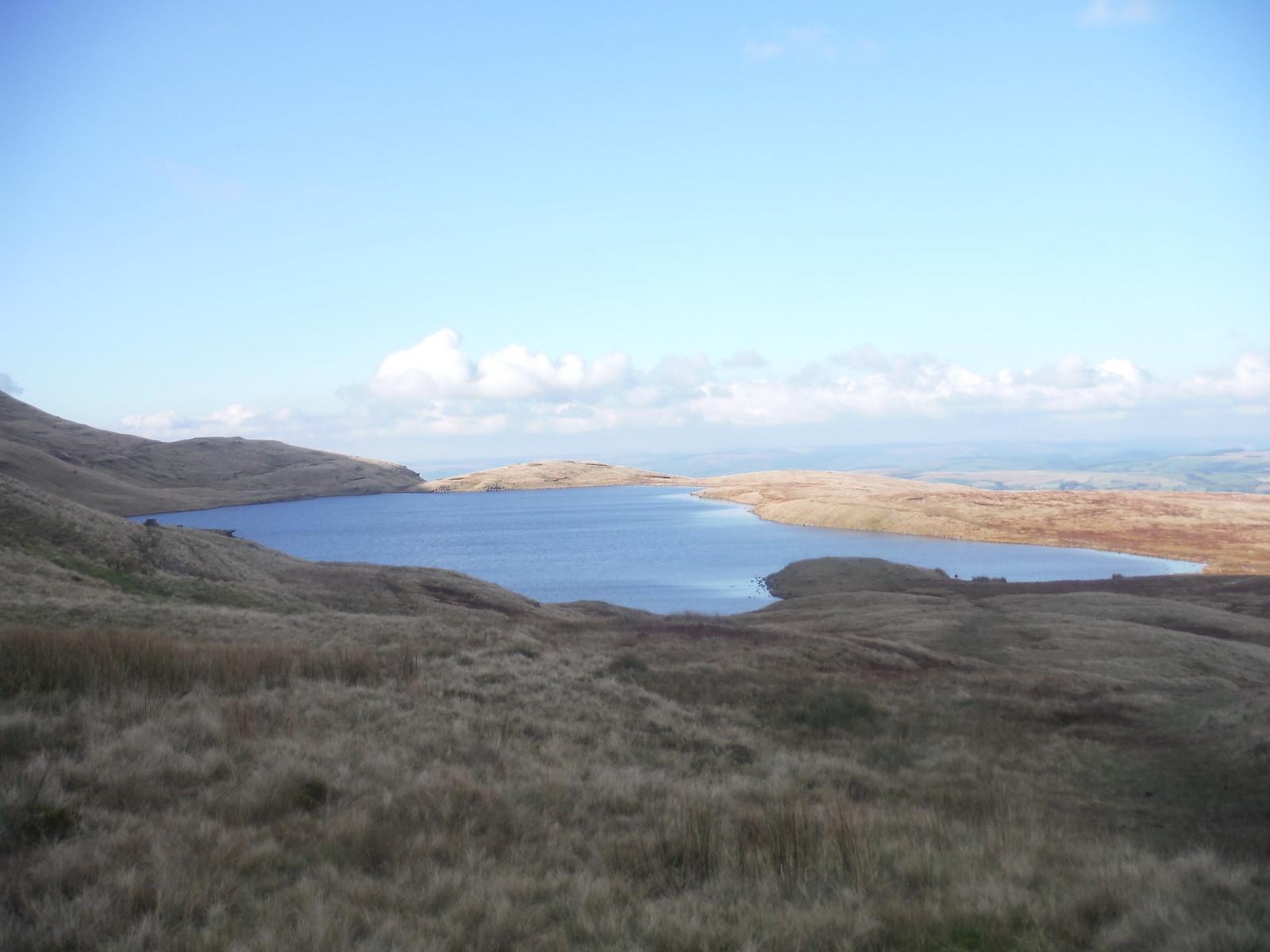 Llyn y Fan Fawr SWC Walk 279 The Black Mountain - Y Mynydd Du (Glyntawe Circular)