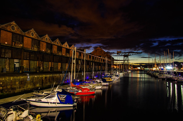 The Sugar Sheds and James Watt Marina
