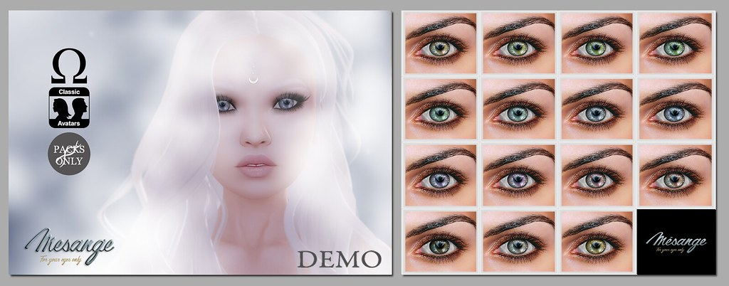 MESANGE - Petrichor Eyes for LOST&FOUND - SecondLifeHub.com