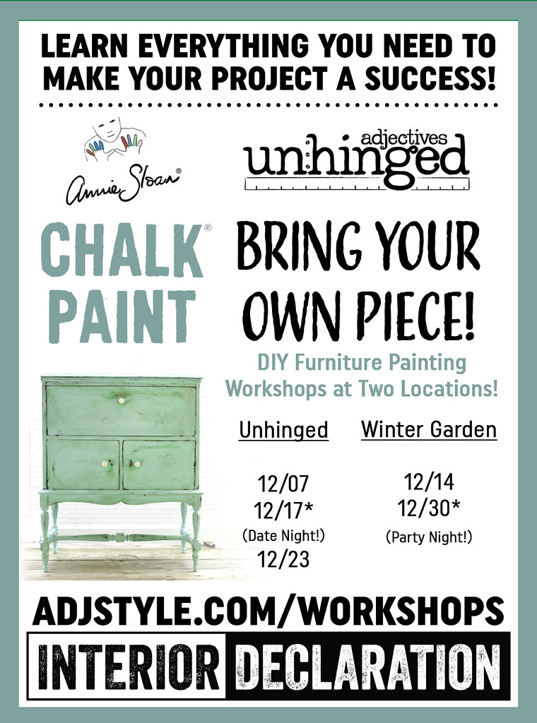 Bring Your Own Piece Painting Workshop